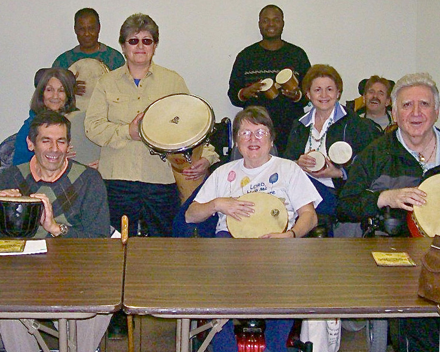 Staten Island MS Drumming Circle photo